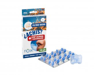 Filtro nasal con cajita 10 uds. TALLA GRANDE