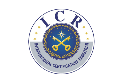 ICR (International Certification Register) ISO 14001:2004 – ISO 9001:2008