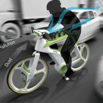 biker polución