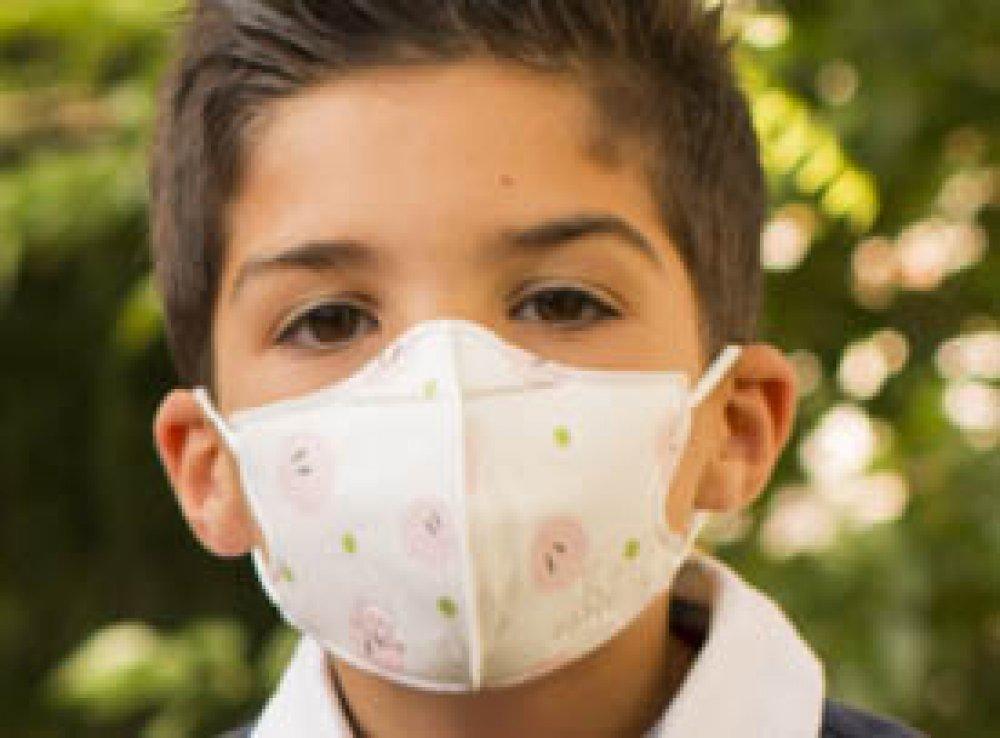 mascarilla infantil o mascarilla pediatrica