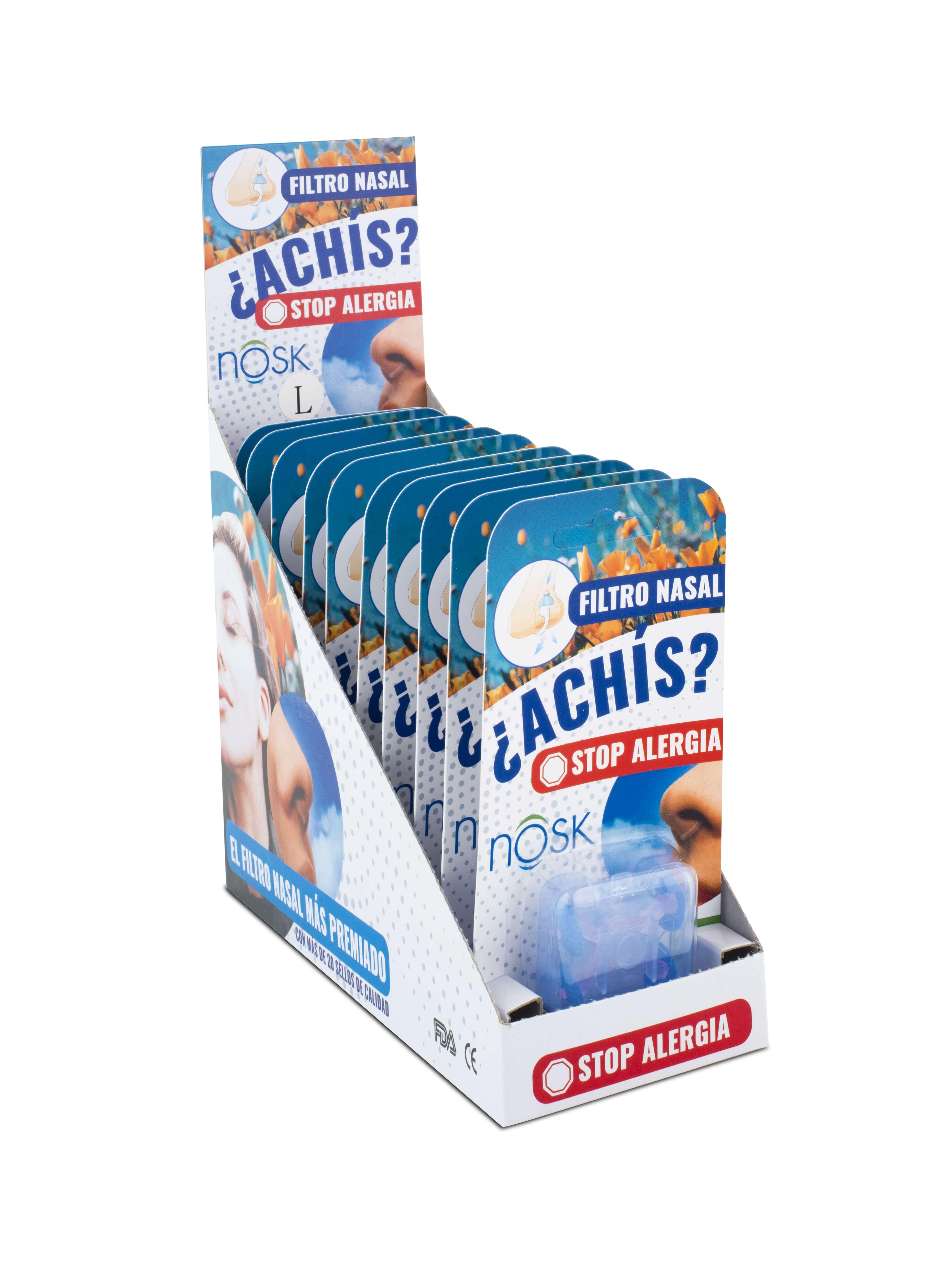 El filtro nosk de nariz se vende en farmacias