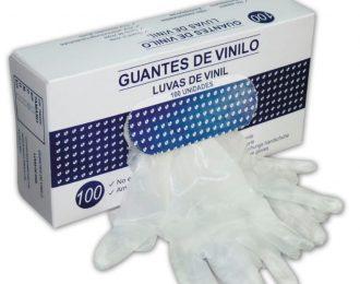 GUANTE VINILO TRANSPARENTE 100UND