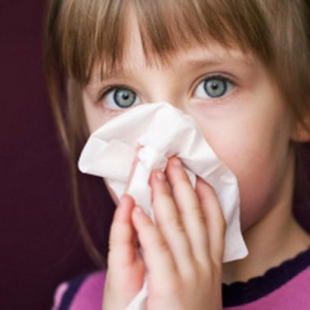 Alergia nasal en niños