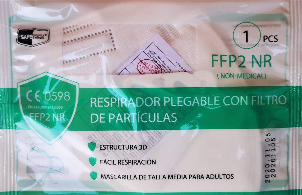 envase ffp2